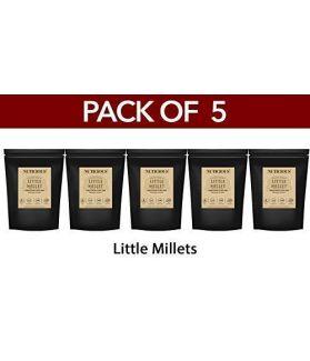 ALL NATURAL Little Millet Kutki / Samai / Sama / Same / Chama - 500 Gm X 5(Pack of 5)