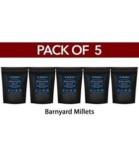 ALL NATURAL Branyard Millet Khira / Swank / Kuthiraivally / Udalu / Kodisama / siridhanya - 500 gm X 5(Pack of 5)