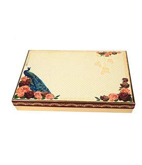 NUTICIOUS - Mayura Assorted Dry Fruits Gift Box500 gm Almond125 gm ,Cashew, Raisins,Pistachio Kernals,Special Diwali Gift