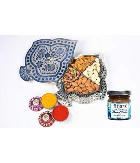 Assorted Dry Fruits Box160 ge with Almond Butter 40 Ge (Special Gift for Freinds/Relatives)