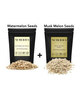 ALL NATURALS Watermelon Melon Seeds, Musk Melon Seeds, 450 ge X 2..Dry Fruit , Nuts & Berries