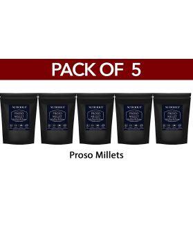 ALL NATURAL Proso Millet Barri / Panivaragu / Varigulu / Baragu- 500 gm X 5 (Pack of 5)Fiber Food Dietery Food