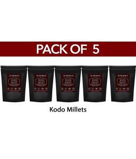 ALL NATURAL Kodo Millet (Kodon / Araka / Arikelu / Varagu) 500 gm X 5(Pack of 5)Fiber Food Dietery Food