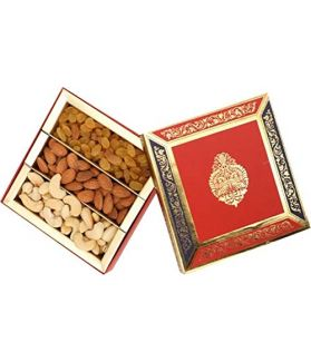 Dry Fruit Gift Pack 300 Gm Assorted Dry Fruits Almond,Cashew, Raisins