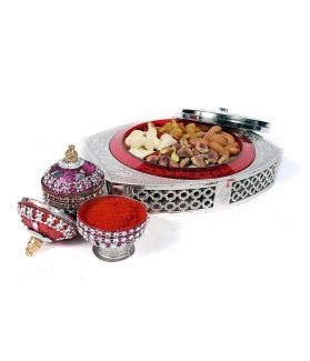 Assorted dryfruit Gift Box , 160 ge, Dry Fruit , Nuts & Berries with Almond Butter 30 Gm