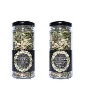 Keto Vegan Roasted Seeds Mix -180 gm X 2