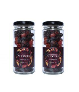 Keto Vegan Mixed Berries Dry Fruits -180 gm X 2