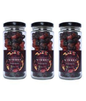 Keto Vegan Mixed Berries Dry Fruits -180 gm X 3
