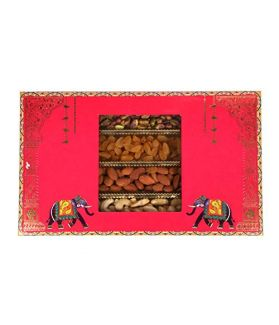 Dry Fruit Gift Box Pack 1000 Ge Assorted Dry Fruits Almonds,Cashews, Raisins,Pistachios