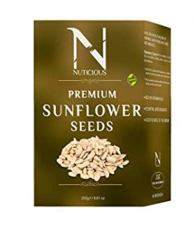 All Natural Gourmet Vegan Food Premium Sunflower Seeds-250Ge Seeds & Berries