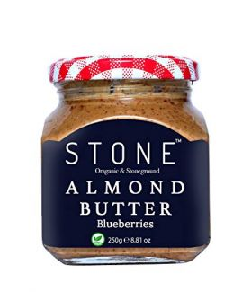 All Natural Organic Almond Butter with Blueberries, 250Gm