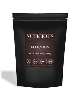 All Natural Premium Almonds (Badam) - 900Gm