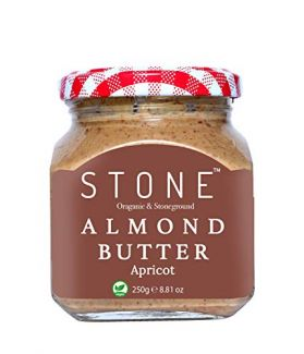 All Natural Stone Ground Almond Butter with Apricot, 250Gm