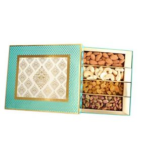 Dry fruits Box (Almonds,Cashew,Pista,Raisins) -1000 G