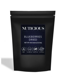 All Natural Dried Blueberries - 250Gm