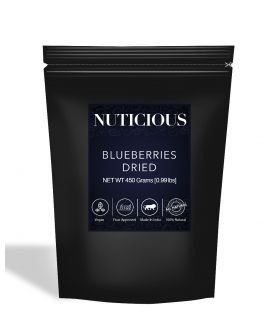 All Natural Dried Blueberries - 450Gm