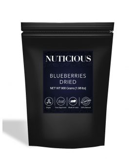 All Natural Dried Blueberries - 900Gm