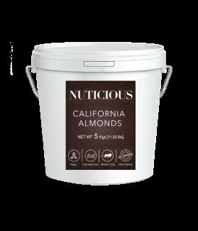 All Natural Premium Almonds (Badam) - 5 kgs