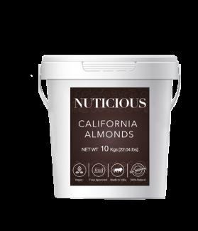 All Natural Premium Almonds (Badam) - 10kgs