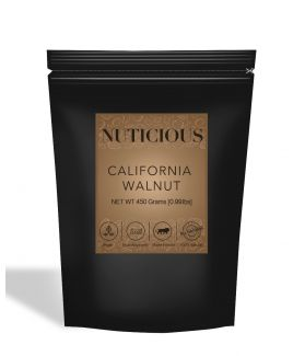 All Natural Premium California Walnuts (Akhrot) - 450Gm