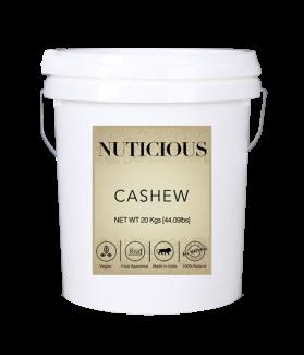All Natural Whole Cashew Nuts (Kaju)-20 Kgs