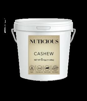 All Natural Whole Cashew Nuts (Kaju)-5 Kgs