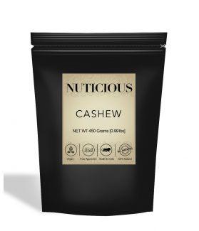 All Natural Premium Cashew Nuts (Kaju) - 450Gm