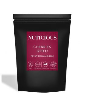 All Natural Dried Cherries - 450Gm