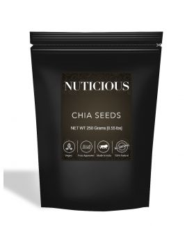 All Natural Healthy Organic Chia Seeds (Omega-3 Food) - 250Gm