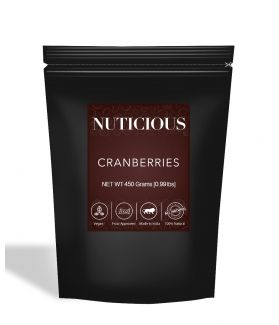 All Natural Dried Cranberries - 450Gm
