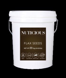 All Natural Organic Flax Seeds (Omega Food)-20 Kgs