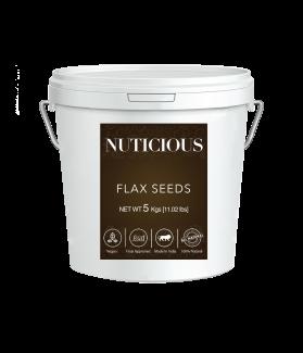 All Natural Organic Flax Seeds (Omega Food)-5 Kgs