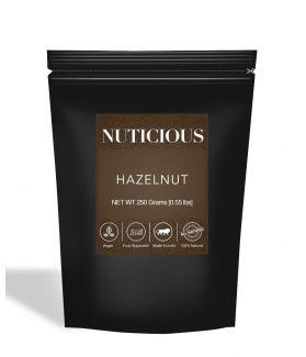 All Natural Hazelnuts - 250Gm