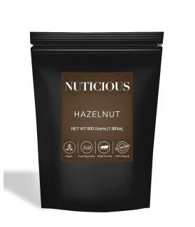 All Natural Premium Hazelnuts - 900Gm