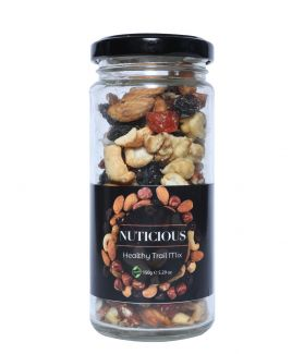 All Natural Vegan Healthy Trail Mix Dry Fruits - 150Gm
