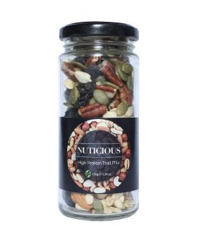 All Natural Vegan High Protein Trail Mix Dry Fruits -150Gm