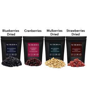 Blueberries, Strawberries, Mulberries, Cranberries, 450 GeX 4