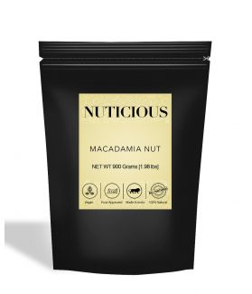 All Natural Exotic Macadamia Nuts - 900Gm