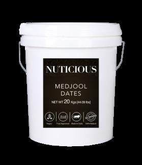 All Natural Medjool Dates (Khajur)-20kgs (Gourmet Food Premium Quality)