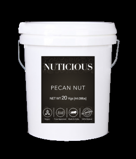 All Natural Jumbo Pecan Nuts-20kgs (Gourmet Vegan Food Premium Quality)