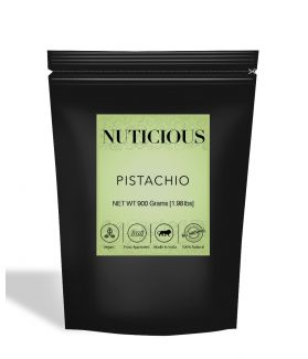 All Natural Pistachio (Pista) Kernels (Without Shell) - 900Gm