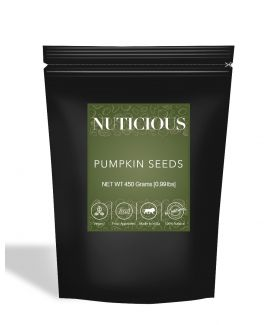 All Natural Premium Pumpkin Seeds Raw - 450Gm