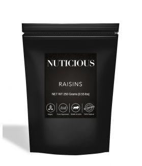 All Natural Premium Golden Raisins (Kishmish) - 250Gm