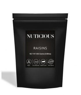 All Natural Premium Golden Raisins (Kishmish) - 450Gm