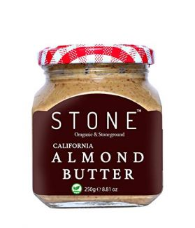 All Natural Stone Ground Organic Almond Butter, 250Gm